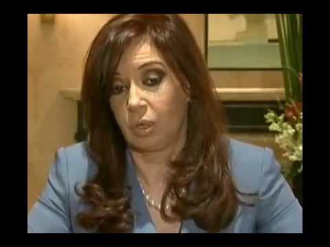 Argentina: President Cristina Fernández de Kirchner defends marriage