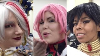 Cosplayers visit Ministry of Foreign Affairs office