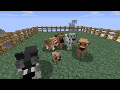 скачать мод на собак майнкрафт 1.6.4