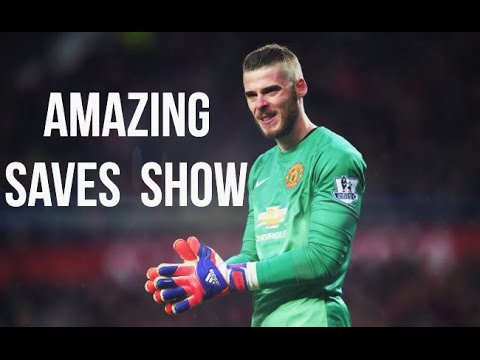 DAVID DE GEA ► Amazing Saves Show 2015 | HD