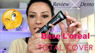 REVIEW + DEMO  LOREAL INFALIBLE TOTAL COVER 🌺  | Sandranewlook