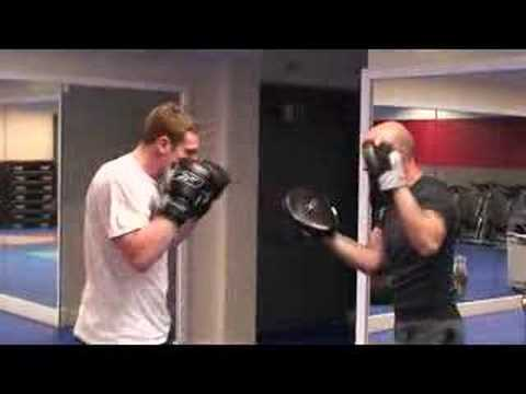 Boxing/exercise coaching - client combination and padwork Image 1