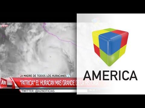 Patricia, el mayor huracán de la historia que tiene en vilo a todo México