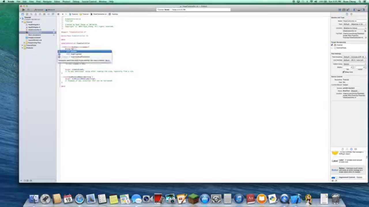how to make a simple app in xcode 5