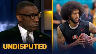 Shannon Sharpe is surprised with Colin Kaepernicks settlement with the NFL  NFL  UNDISPUTED