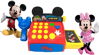 Best Learning Colors Video for Children  - Mickey Mouse Clubhouse Cash Register
