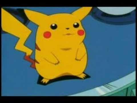 Ash meets Pikachu