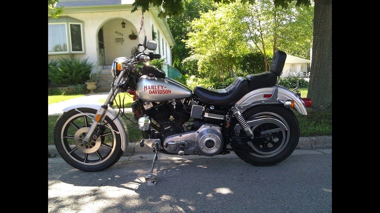 Harley Davidson Fxs Factory Custom