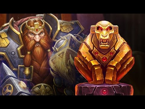 (Hearthstone) Golden Monkey Fatigue - Monkey Reno Warrior VS Control Mage