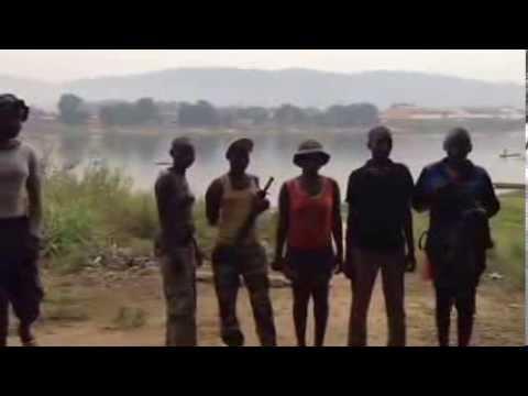 A Bangui, des