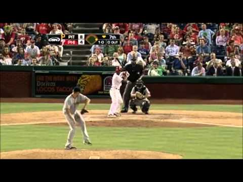 Jimmy Rollins 2012 Highlights