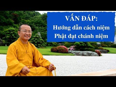 Vấn đáp: Hướng dẫn cách niệm Phật đạt chánh niệm