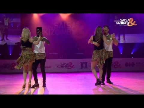 MSKFest 2017 KizombaDas - Harmonia do Semba  (Russia)