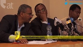 Redwan Hussien and Shimeles Kemal on current political events