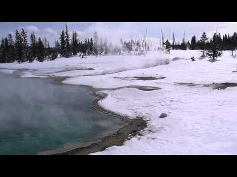 Yellowstone West Thumb Geyser Winter 2011