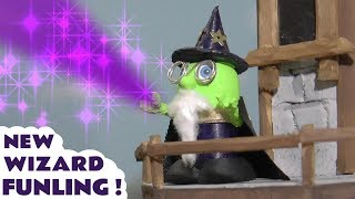 Funny Funlings new Wizard Funling with Thomas and Friends toy trains magic tower story TT4U