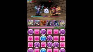 [パズドラ Puzzle and Dragons] Poring Tower - Master - Pandora Team