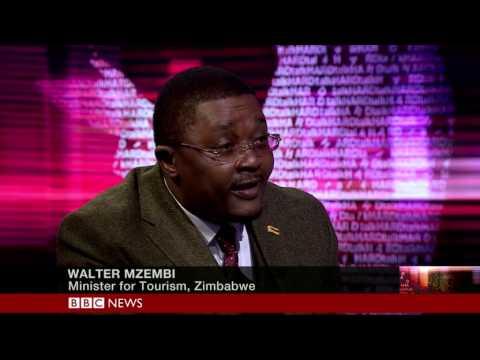 Zimbabwe Tourism Minister Walter Mzembi On Bbc Hardtalk Pt1 video