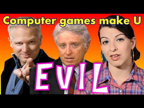 Anita Sarkeesian, Glenn Beck, Jack Thompson DREAM TEAM!
