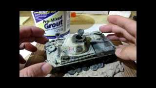 Building Tamiya Panzer Two Tank. Complete From Start to Finish