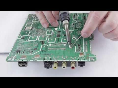 TV no tiene imagen - Cómo reemplazar el sintonizador de la reparación subtítulos en español
