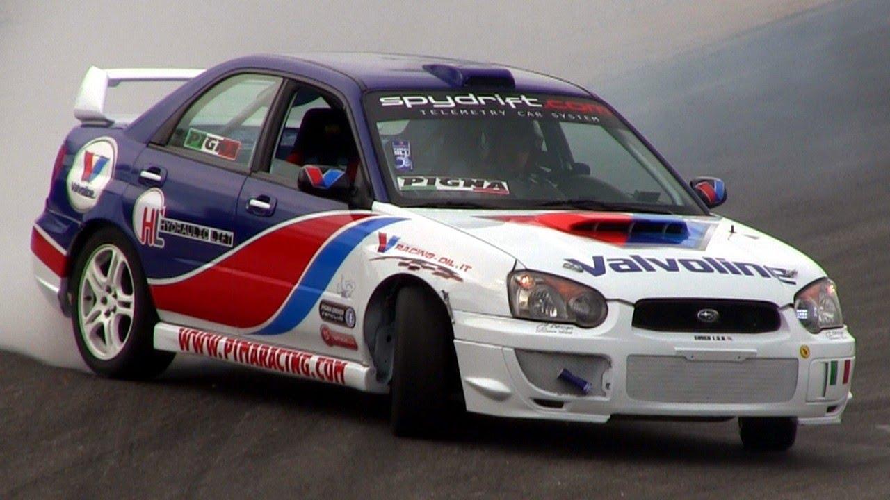Rwd Subaru Impreza Wrx Sti Drifting Youtube