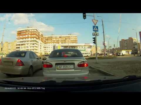 VicoVation SF2 видео с видеорегистратора (День) ч.2
