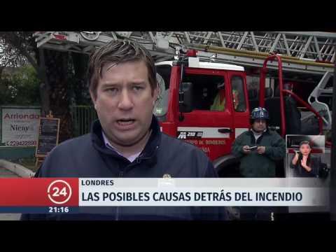 Incendio edificio residencial de Londres: 12 personas fallecidas
