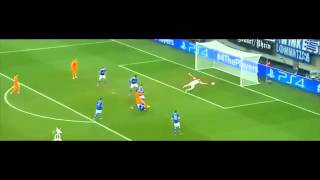 Schalke vs Real Madrid 1-6 Gareth Bale Goal (26/02/2014) champions league