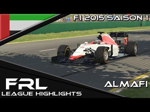 Formula1-Racing-League | Abu Dhabi | Highlights | F1 2015