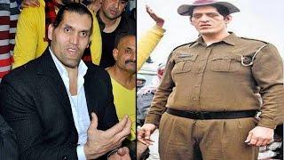 World's Tallest Policeman Rajesh Kumar 7ft 4 Inch prepares for WWE | वनइंडिया हिन्दी