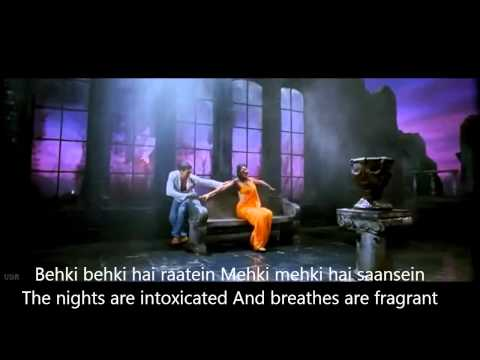 Gale Lag Ja Hindi English Subtitles Full Song De Dana Dan Movie...