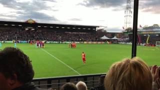 Go Ahead Eagles - Feyenoord 06-11-2016 ( 4K )