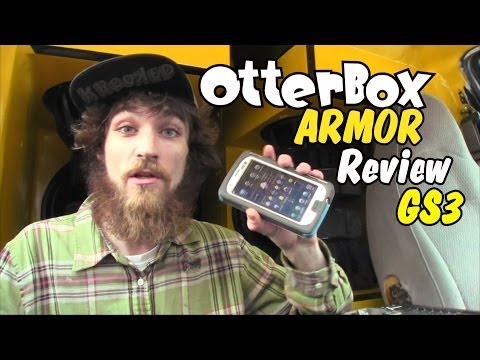 OtterBox Armor Review: Waterproof Samsung Galaxy S3 Cell Phone Case   SIII Series