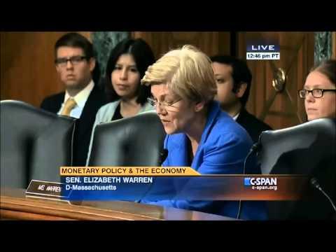 Elizabeth Warren vs. Janet Yellen on Banks - 07-13-2015