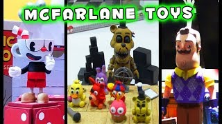 FNAF Mcfarlane Toys Five Nights at Freddy's Cuphead Hello Neighbor Fortnite Roundup