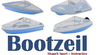 Installatie film Bootzeil ShapeX sport