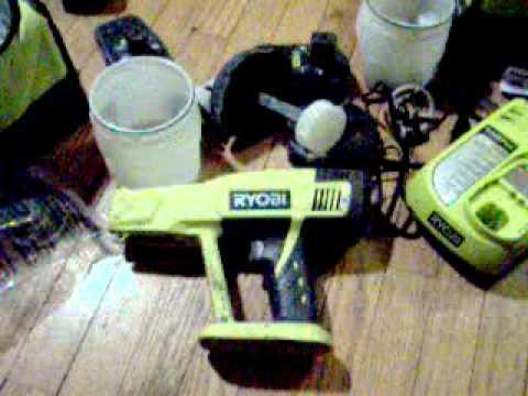 Ryobi P630 Cordless Electric Paint Sprayer