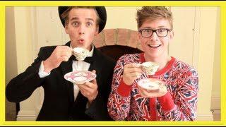 Download Lagu HOW TO: BE BRITISH (ft. Joe Sugg) | Tyler Oakley Gratis STAFABAND