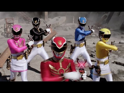 Power Rangers Super Megaforce: Comic-Con 2014 Trailer