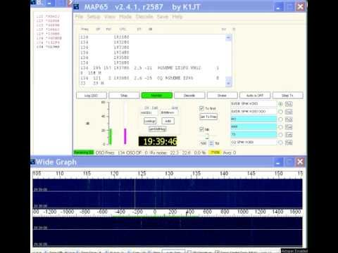 2m EME: 9G5EME - CQ from Ghana