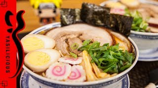NARUTO RAMEN – Miso Chashu Ramen Suppe – Miso Nudelsuppe - Naruto Nudelsuppe