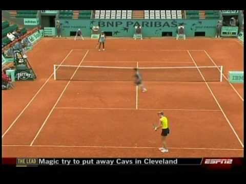 Venus Williams VS Lucie Safarova 2/10- French Open 2009- 2nd Round Video