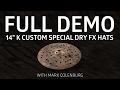 "Zildjian Demos - 14"" K Custom Special Dry FX Hats"