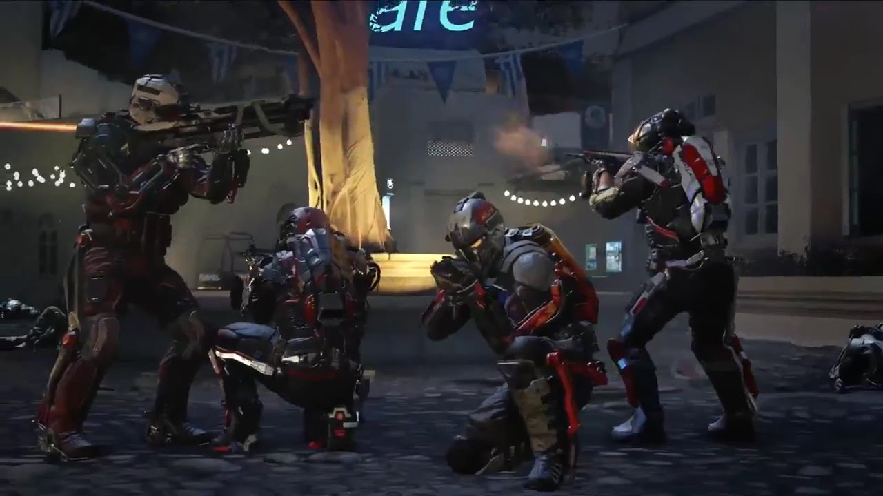cod advanced warfare coop gameplay trailer exo survival