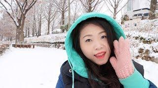 [SEOUL TRAVEL]: CÙNG NGẮM TUYẾT RƠI TẠI SEOUL NÀO ❄❄❄ | WINTER SNOW IN KOREA ♡ ThuyInSeoul