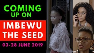 Coming Up On Imbewu:The Seed 03-28 June 2019 [Fabulous]