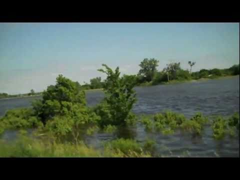 River Flooding in Nebraska and Iowa 06-12-2011