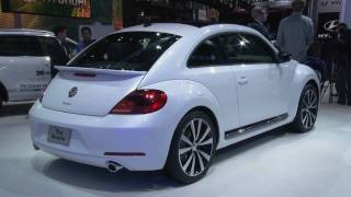 2012 Volkswagen Beetle at the 2011 New York Auto Show