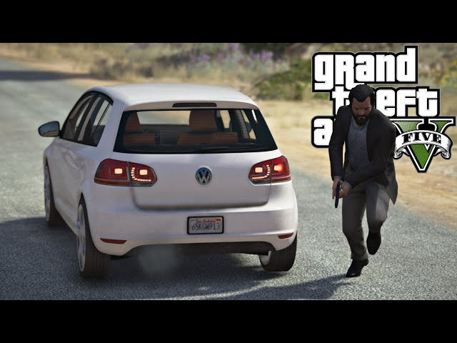 GTA V: FUGA THE VOLKSWAGEN GOLF MK6: GTA 5 MODS